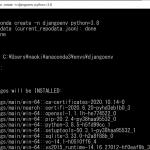 WindowsでDjango、Anaconda、VSCodeのインストールとDjangoを開発する環境の構築をする